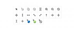 cursor-symols