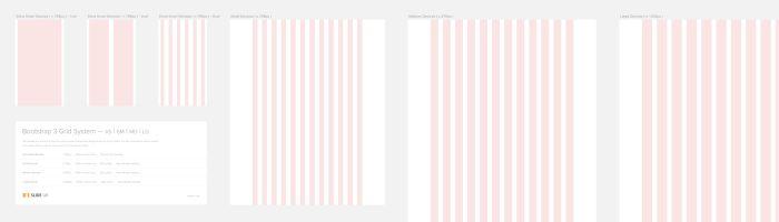 Bootstrap 3 grid template for Sketch \u2013 Sketch App Rocks!