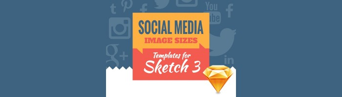 social media templates sketch app rocks. Black Bedroom Furniture Sets. Home Design Ideas