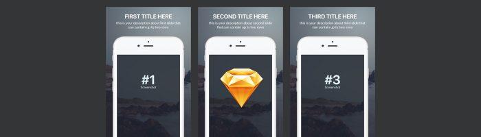 appstore-screenshots-template