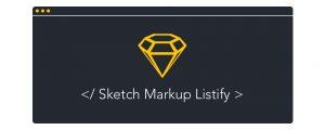 sketch-markup-listify