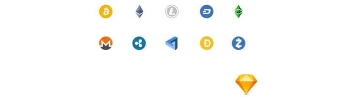 Free crypto icons